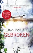 Gebroken ebook door B.A. Paris, Ireen Niessen