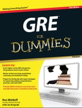 GRE For Dummies ebook by Ron Woldoff