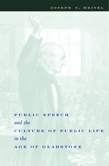 Public Speech and the Culture of Public Life in the Age of Gladstone ebook by Joseph Meisel