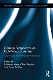 German Perspectives on Right-Wing Extremism - Challenges for Comparative Analysis ebook by Johannes Kiess,Oliver Decker,Elmar Brähler