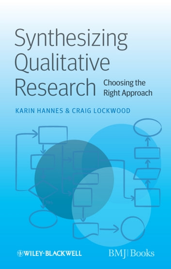 Synthesizing Qualitative Research - Choosing the Right Approach ebook by Karin Hannes,Craig Lockwood