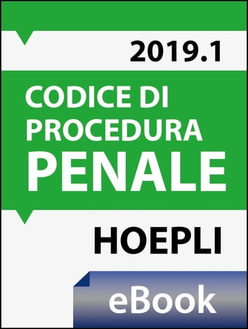 Codice di procedura penale 2019 ebook by Giorgio Ferrari