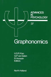 Graphonomics: Contemporary Research in Handwriting ebook by Kao, H.S.R.