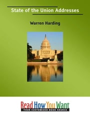 State Of The Union Addresses ebook by Harding Warren