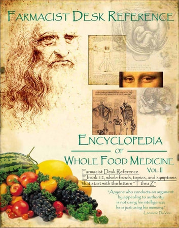 Farmacist Desk Reference Ebook 12 Whole Foods and topics that