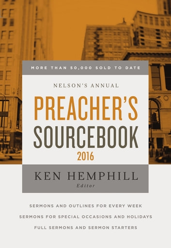 Nelson's Annual Preacher's Sourcebook 2016 ebook by