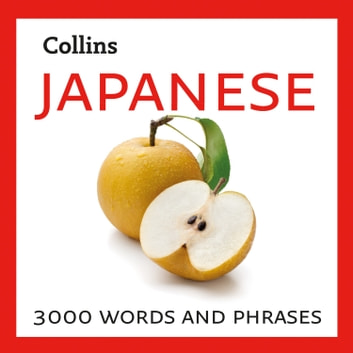 Japanese: 3000 words and phrases audiobook by Collins Dictionaries