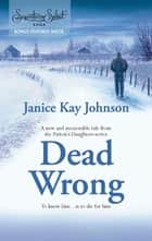 Dead Wrong (Mills & Boon M&B) ebook by Janice Kay Johnson