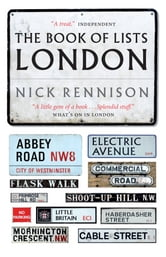 The Book Of Lists London ebook by Nick Rennison