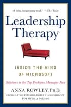 Leadership Therapy ebook by Anna Rowley