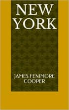 New York 電子書 by James Fenimore Cooper
