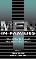 Men in Families ebook by Alan Booth,Ann C. Crouter
