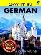 Say It in German - New Edition ebook by