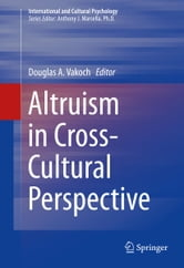 Altruism in Cross-Cultural Perspective ebook by