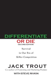 Differentiate or Die ebook by Jack Trout