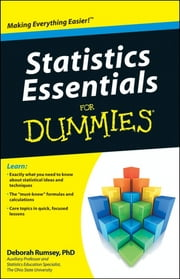 Statistics Essentials For Dummies ebook by Deborah Rumsey-Johnson