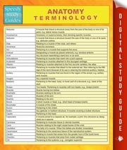 Anatomy Terminology ebook by Speedy Publishing