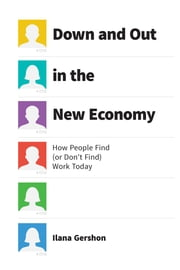 Down and Out in the New Economy - How People Find (or Don't Find) Work Today ebook by Ilana Gershon