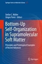 Bottom-Up Self-Organization in Supramolecular Soft Matter - Principles and Prototypical Examples of Recent Advances ebook by Stefan C. Müller, Jürgen Parisi
