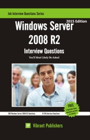 Windows Server 2008 R2 Interview Questions You\