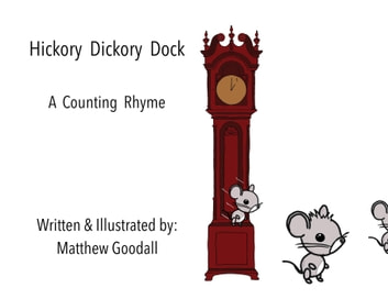 Hickory Dickory Dock - A Counting Rhyme ebook by Matthew Goodall