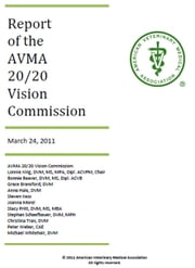 AVMA 20/20 Vision Commission Report ebook by AVMA