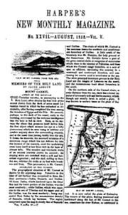 Harper's New Monthly Magazine, No. XXVII, August 1852, Vol. V (Illustrated) ebook by Various