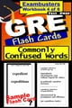 GRE Test Prep Commonly Confused Words Review--Exambusters Flash Cards--Workbook 4 of 6 - GRE Exam Study Guide ebook by GRE Exambusters