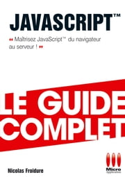 Javascript ebook by Nicolas Froidure