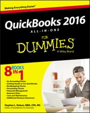 QuickBooks 2016 All-in-One For Dummies ebook by Stephen L. Nelson