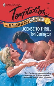 License to Thrill (Mills & Boon Temptation)