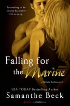 Falling for the Marine (Entangled Brazen)