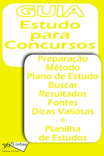 Estudo para Concursos ebook by Ricardo Garay