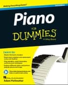Piano For Dummies ebook by Hal Leonard Corp., Adam Perlmutter