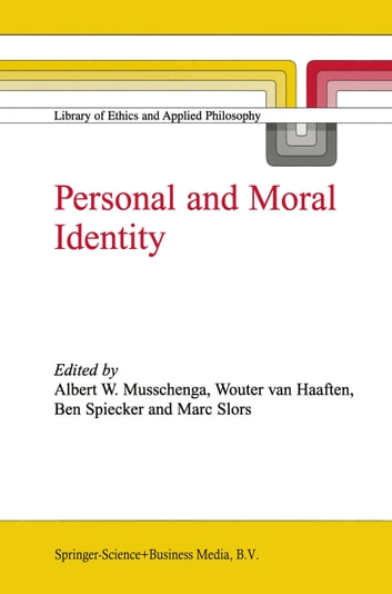 Personal and Moral Identity ebook by