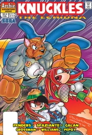 "Knuckles the Echidna #9 ebook by Ken Penders,Patrick ""SPAZ"" Spaziante,Manny Galan,Andrew Pepoy,Barry Grossman"