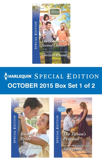 Harlequin Special Edition October 2015 - Box Set 1 of 2 - An Anthology ebook by Christine Rimmer,Tracy Madison,Shirley Jump