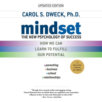 Mindset - The New Psychology of Success audiobook by Carol S. Dweck