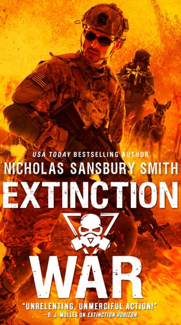 Extinction War ebook by Nicholas Sansbury Smith