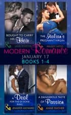 Modern Romance January 2017 Books 1 - 4 (Mills & Boon e-Book Collections) ebook by Jennifer Hayward, Maisey Yates, Anne Mather,...