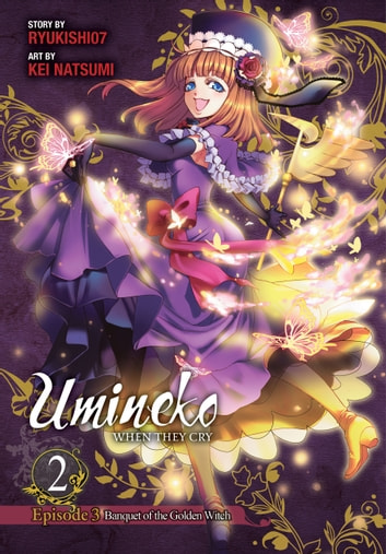 Umineko WHEN THEY CRY Episode 3: Banquet of the Golden Witch, Vol. 2 ebook by Ryukishi07,Kei Natsumi