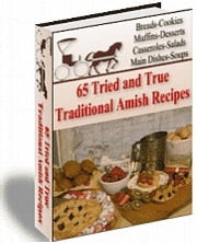 65 Amish Recipes - Traditional Amish Recipes ebook by Sven Hyltén-Cavallius