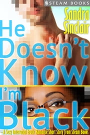 He Doesn't Know I'm Black - A Sexy Interracial Erotic Romance Short Story from Steam Books ebook by Sandra Sinclair, Steam Books