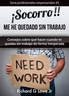 ¡Socorro! Me he quedado sin trabajo. ebook by Richard G Lowe Jr