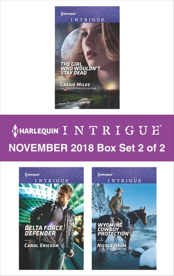 Harlequin Intrigue November 2018 - Box Set 2 of 2 - An Anthology eBook by Cassie Miles,Carol Ericson,Nicole Helm