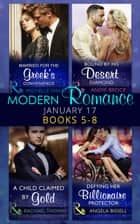 Modern Romance January 2017 Books 5 - 8 (Mills & Boon e-Book Collections) ekitaplar by Michelle Smart, Andie Brock, Rachael Thomas,...