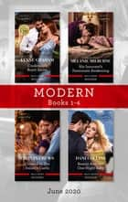 Modern Box Set 1-4 June 2020/Cinderella's Royal Secret/His Innocent's Passionate Awakening/Claimed in the Italian's Castle/Beauty and Her One ebook by Lynne Graham, Caitlin Crews, Melanie Milburne,...