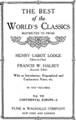 The Best Of The World's Classics (Restricted To Prose) Volume VII - Continental Europe I (Mobi Classics)