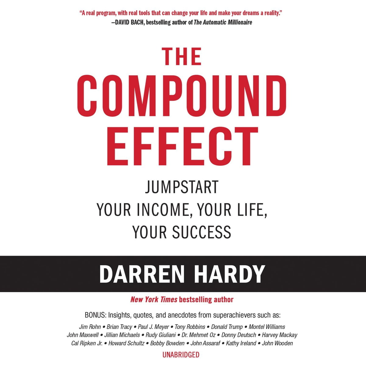 The Compound Effect Audiobook By Darren Hardy 9781982648060