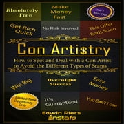 Con Artistry audiobook by Instafo, Edwin Piers